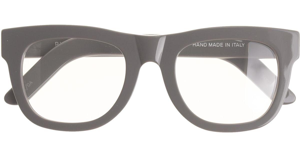 c7b3ce745d J.Crew Super™ Ciccio Eyeglasses in Black - Lyst