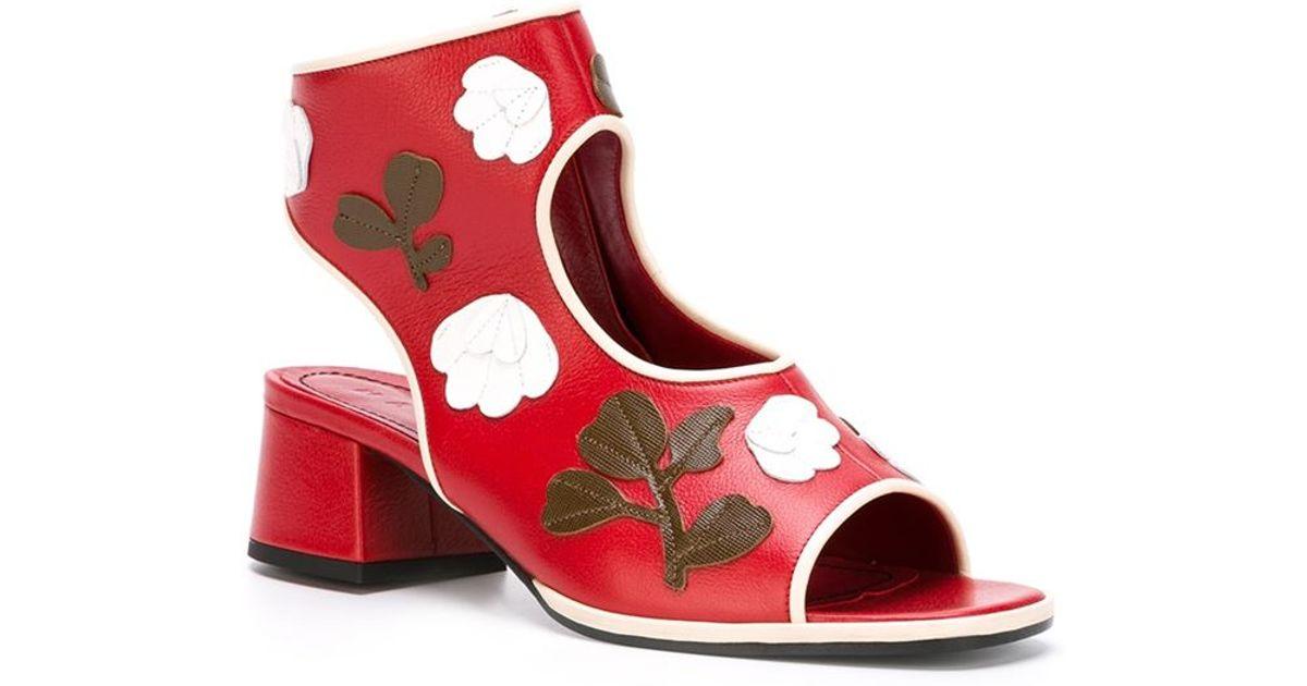 Appliquéd Leather Sandals Marni lhMGZSWa