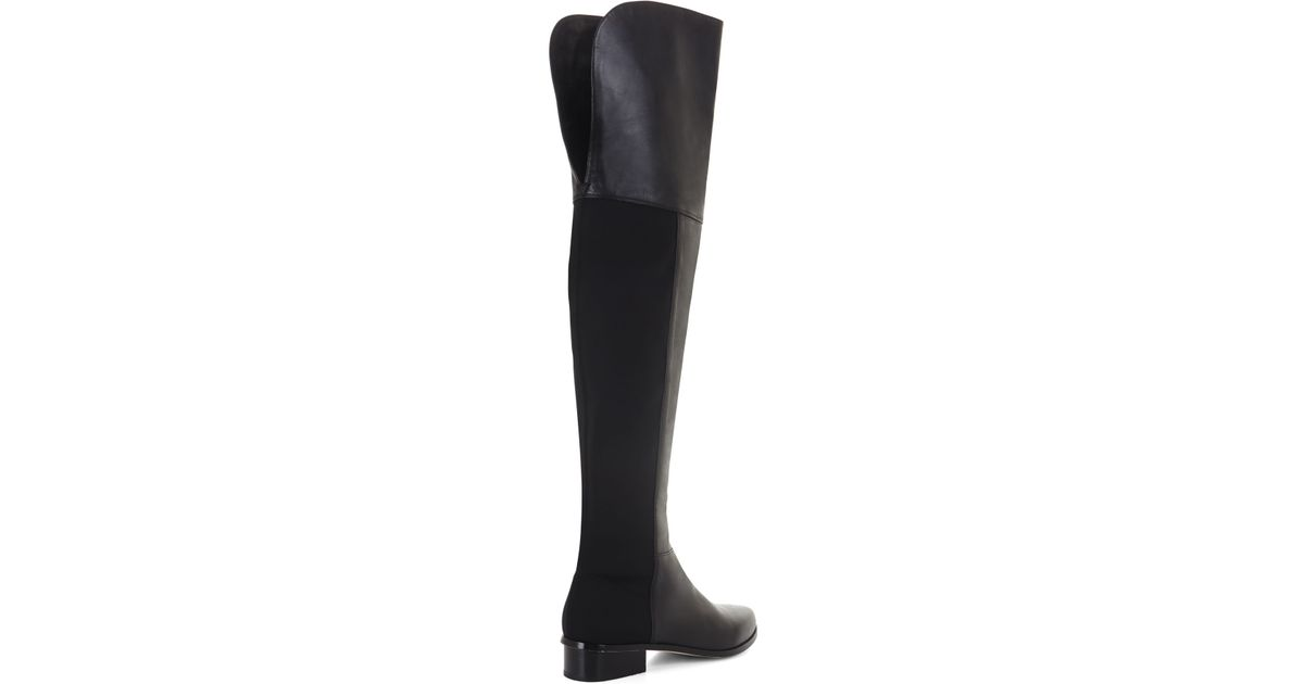 eb1dad8e219 Lyst - BCBGMAXAZRIA Slink Over-the-knee Day Boot in Black - Save 24%