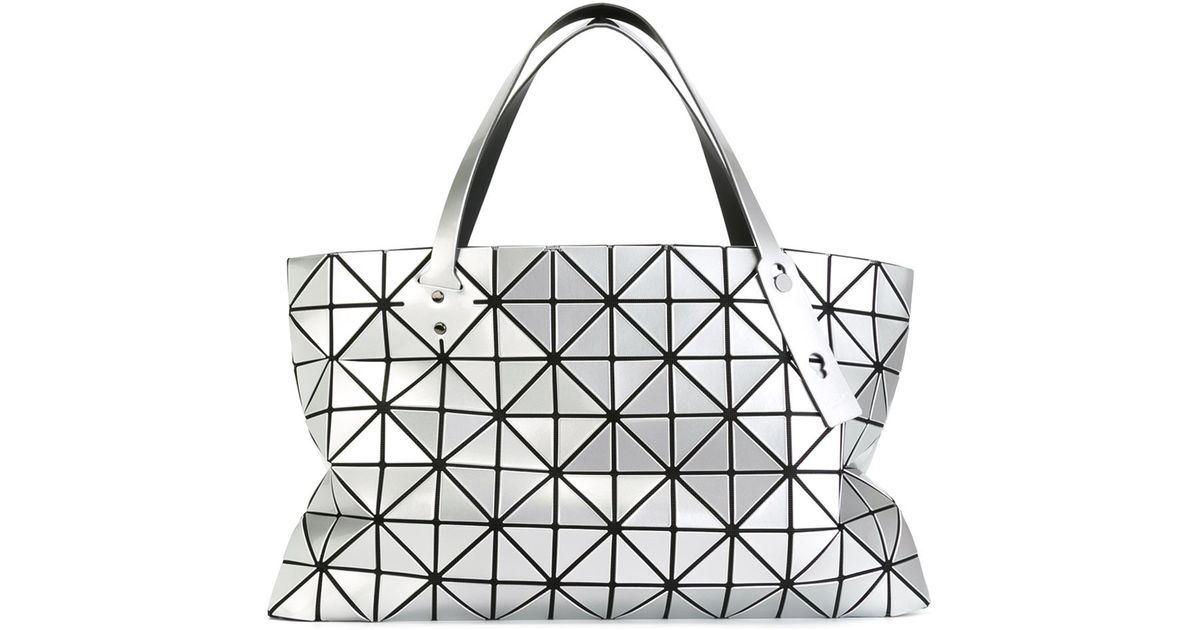 9c15ddd7ce89 Bao Bao Issey Miyake Large  rock-1  Tote in Gray - Lyst