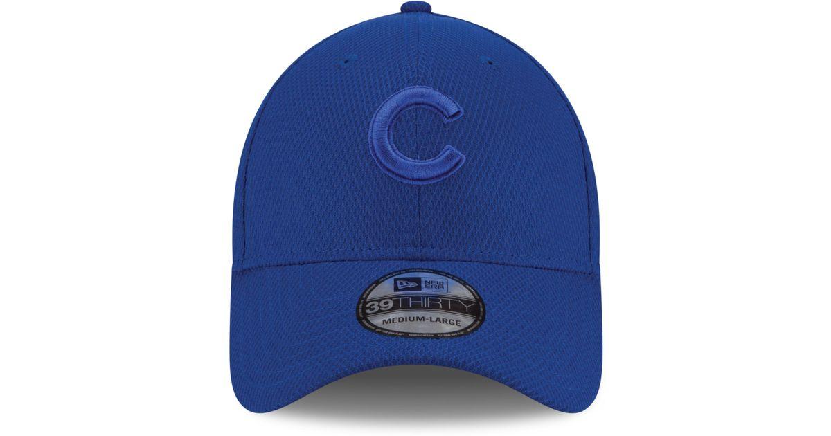 separation shoes da40b 90d63 ... real lyst ktz chicago cubs tone tech 39thirty cap in blue for men de04f  9692a