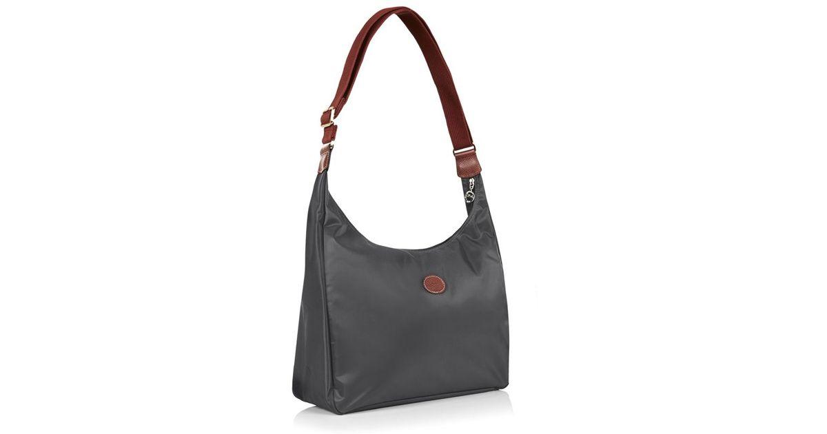 Longchamp Hobo Laukku : Longchamp le pliage hobo bag in red lyst