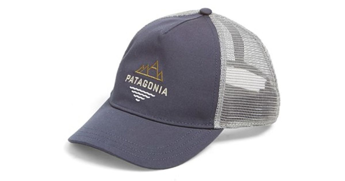 a87eac6472c Lyst - Patagonia  peak To Paddle  Trucker Hat in Blue