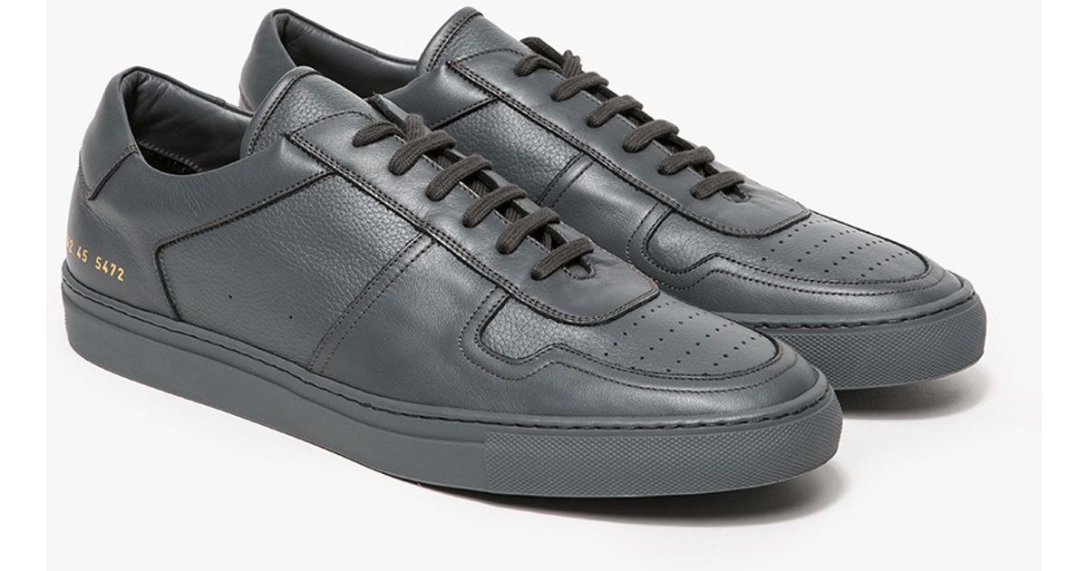 Bball Leather Low Sneakers Common Projects 5PHstnOwn