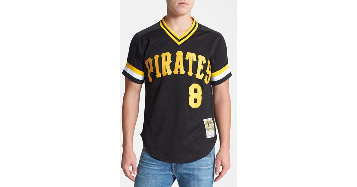 official photos c45a3 ead48 Mitchell & Ness Black 'willie Stargell - Pittsburgh Pirates' Authentic Mesh  Bp Jersey for men