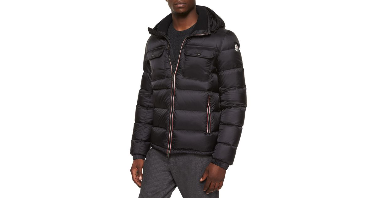 c9438edca Moncler Purple Demar Quilted Puffer Jacket for men