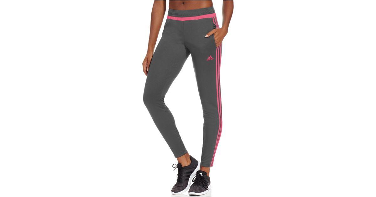 982301cbac4 adidas Originals Tiro 15 Climacool Training Pants in Gray - Lyst