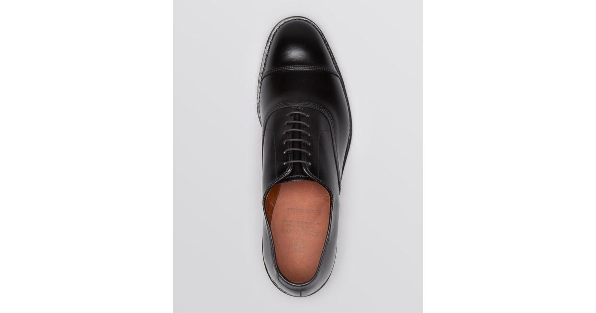 c70cc6dd2cdda Lyst - Allen Edmonds Park Avenue Cap Toe Oxfords in Black for Men