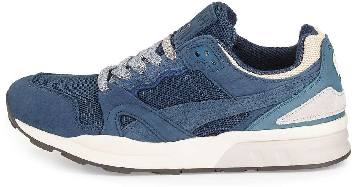48ad086a5773 ... authentic lyst puma bwgh trinomic xt 2 leather sneaker in blue for men  7232c 34208