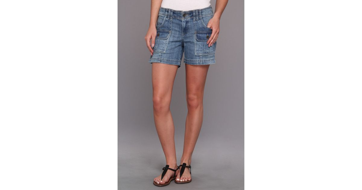 ba8f620817 Kut From The Kloth Cargo Short in Blue - Lyst