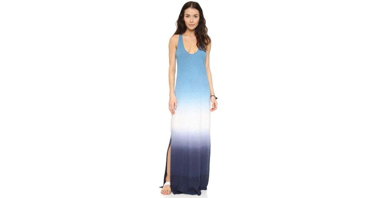 50b6a03e03 Lyst - Soft Joie Narda Colorblock Tie Dye Dress in White