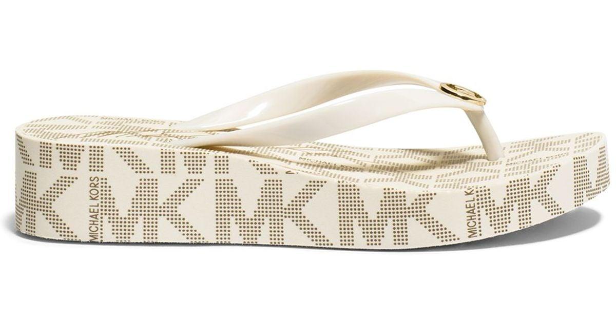 MICHAEL Michael Kors Flip Flop Wedge