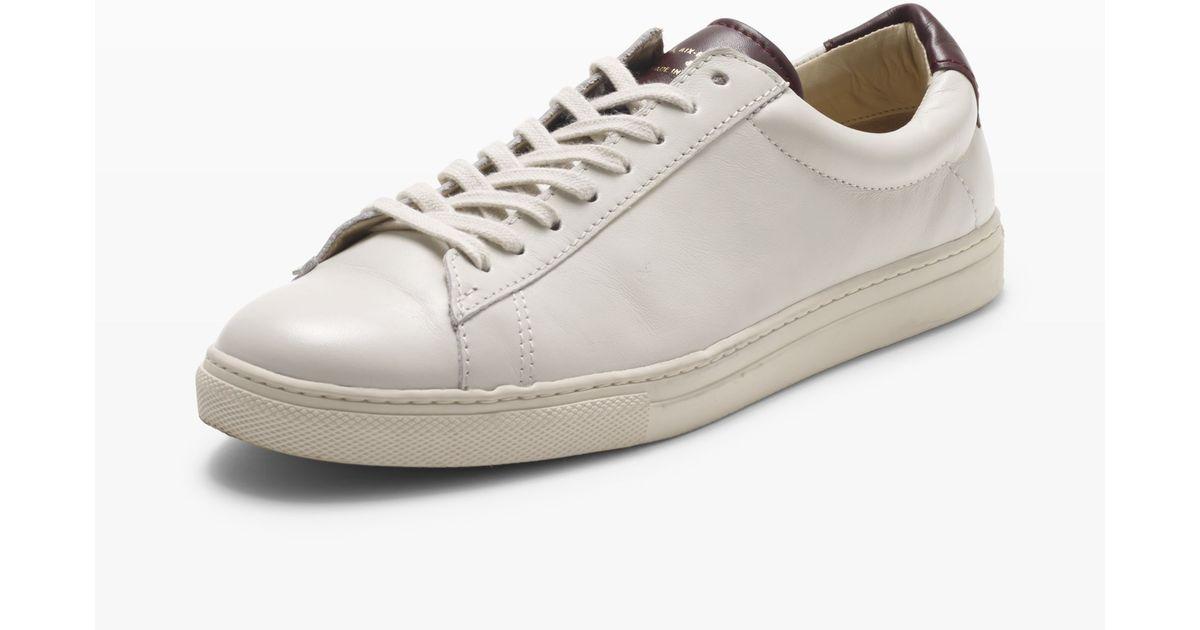Club Monaco Zespa Leather Sneaker in