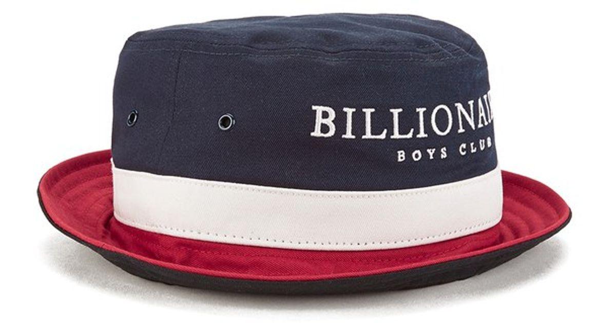 ec3f701b375c7 BBCICECREAM Billionaires Boys Club Men S Break Bucket Hat in Blue for Men -  Lyst