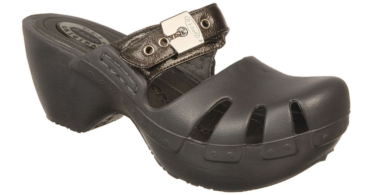 best prices hot products in stock Dr. Scholls Dance Clogs in Gray - Lyst