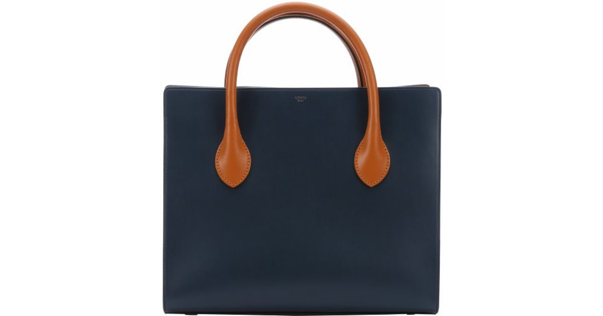 royal blue suede handbag - celine blue leather handbag, authentic celine mini luggage bag