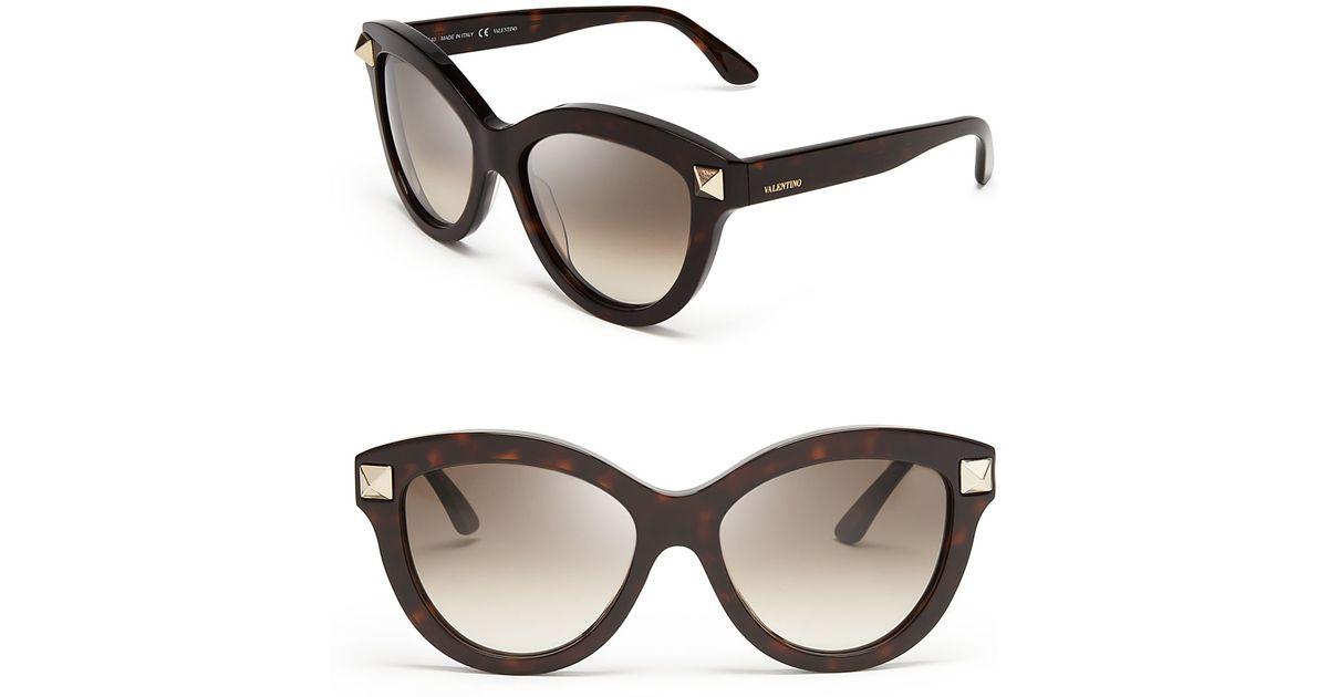 Oversized cat-eye acetate sunglasses Valentino b9e65D