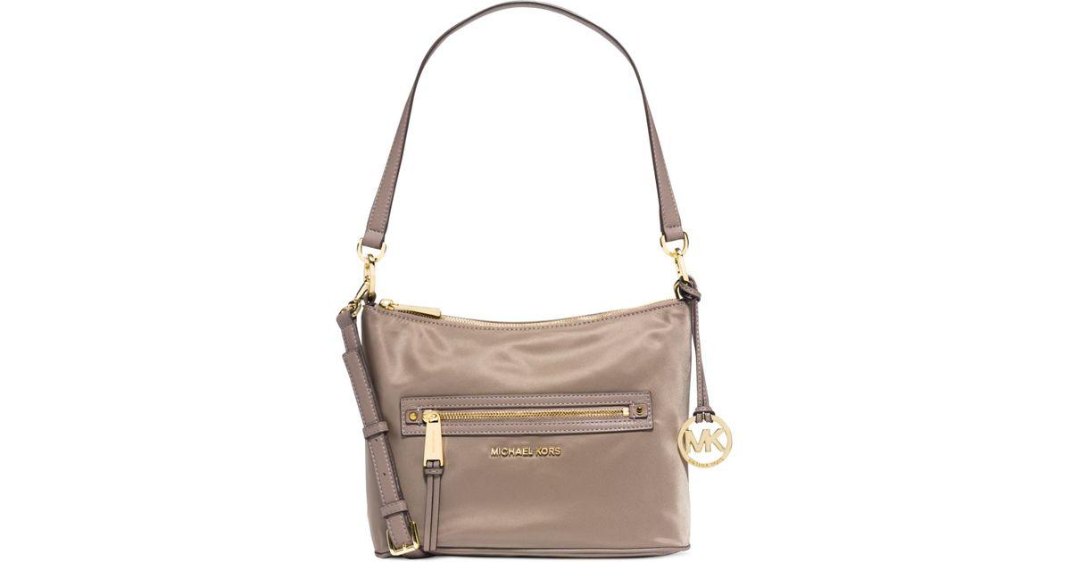 MICHAEL Michael Kors Rhea Zip Medium Bi-Color Leather ...