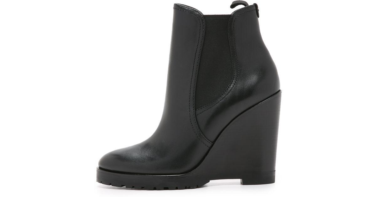ff62ecbce76 Lyst - MICHAEL Michael Kors Thea Wedge Booties - Black in Black