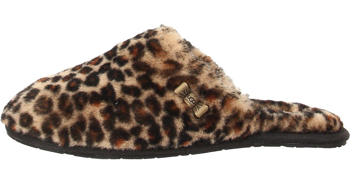 fccd05dbef5 UGG Brown Leopard Uggpure(tm) Clog Slipper