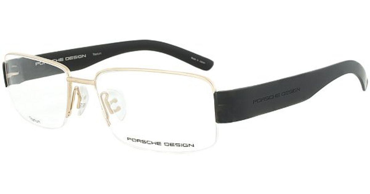 Porsche design Design P8203 A Titanium Gold And Black ...