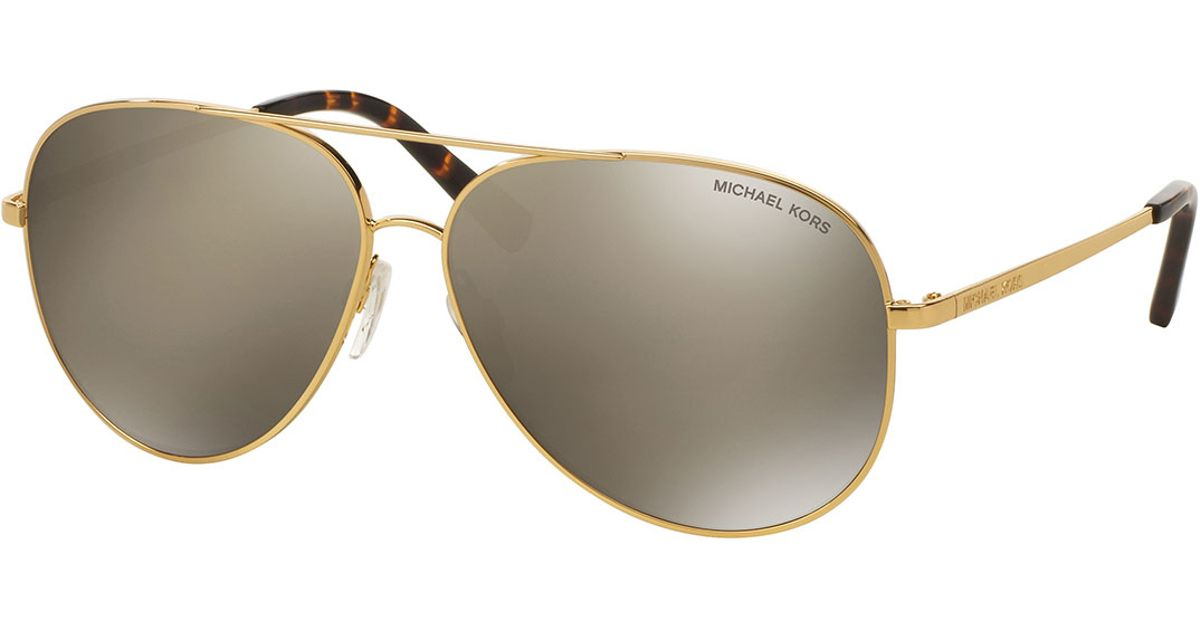 Shopbop offers a collection of stylish gold mirrored sunglasses, a perfect addition to a variety of stylish looks. Discover some new gold mirrored sunglasses to elevate your look. From the beach to the bar. These outfits don't disappoint. We have your next go-to pair of shades.