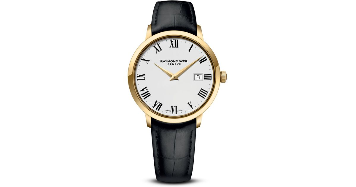 Raymond Weil Toccata Stainless Steel And Gold Pvd Watch