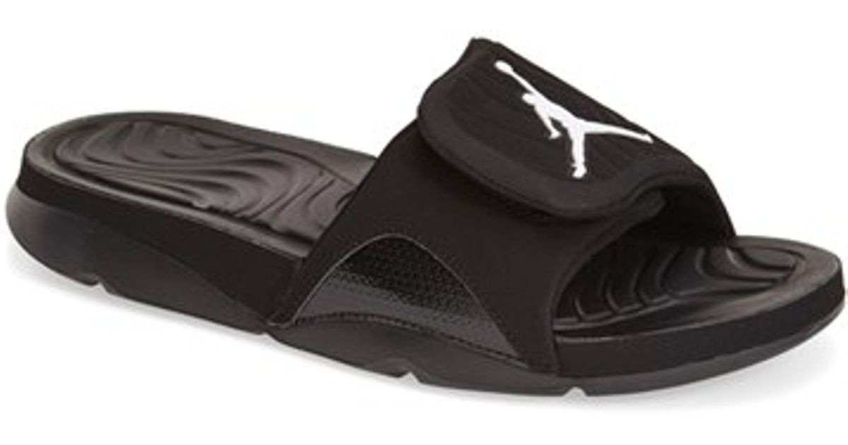 c68cc5033 Lyst - Nike  jordan Hydro 4  Slide Sandal in Black for Men