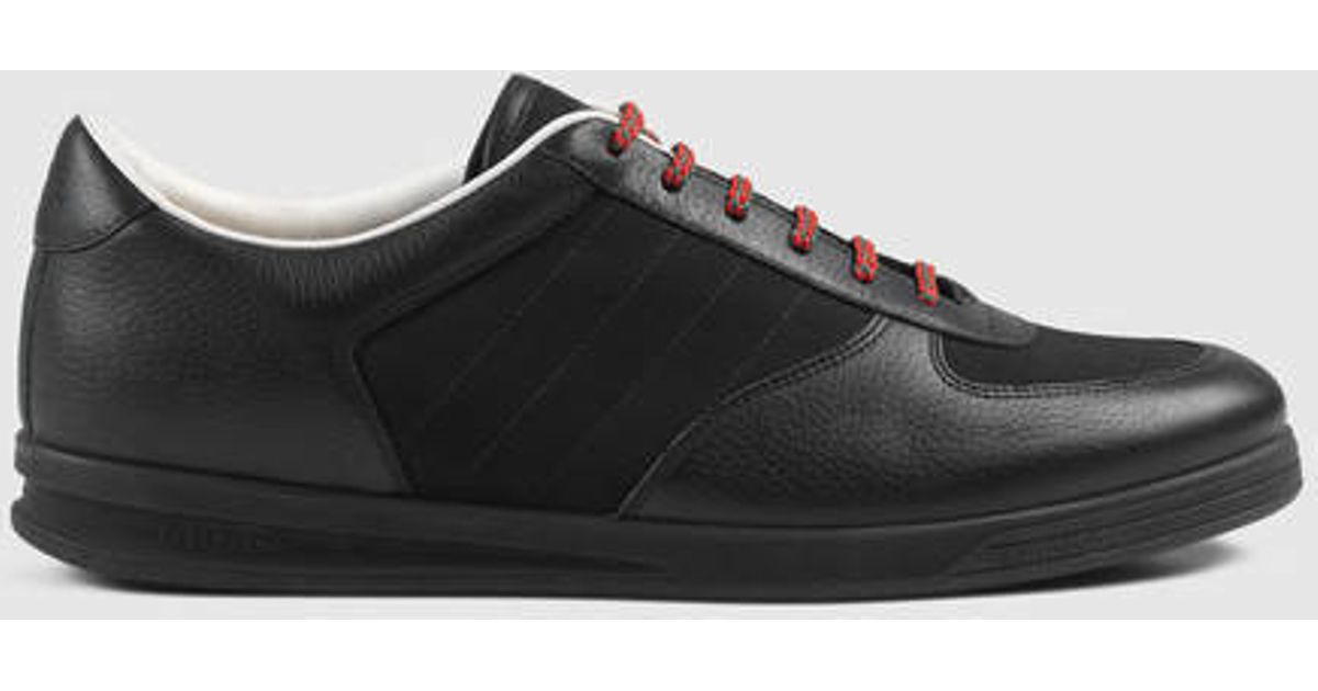 e95c6dcf7 Gucci 1984 Leather Low-top Sneaker in Black for Men - Lyst