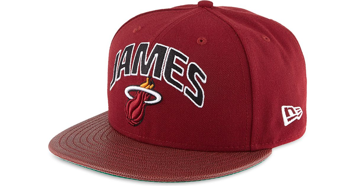 Ktz Lebron James 59fifty Snapback - For Men in Red for Men - Lyst fb7a329e0d3