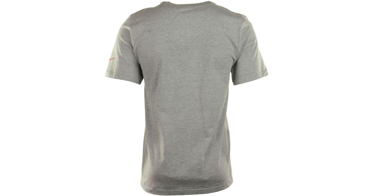 93285dd17 Lyst - Nike Men s Tampa Bay Buccaneers Wordmark T-shirt in Gray for Men