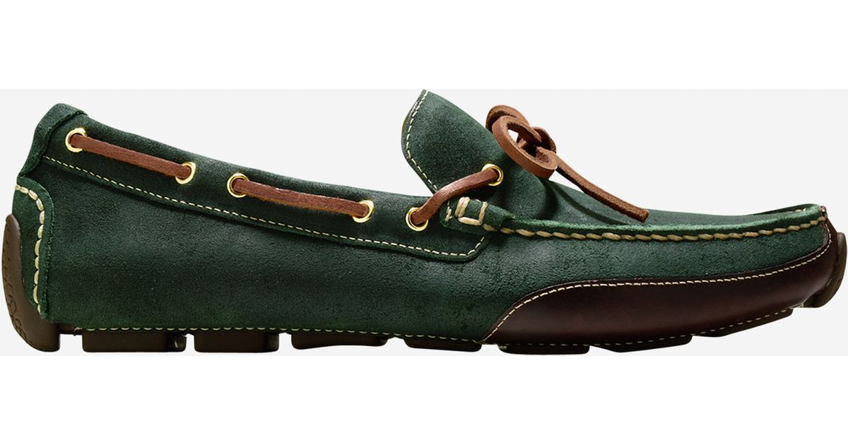 b4cb8870e8b Lyst - Cole Haan Motogrand Camp Moc in Green for Men