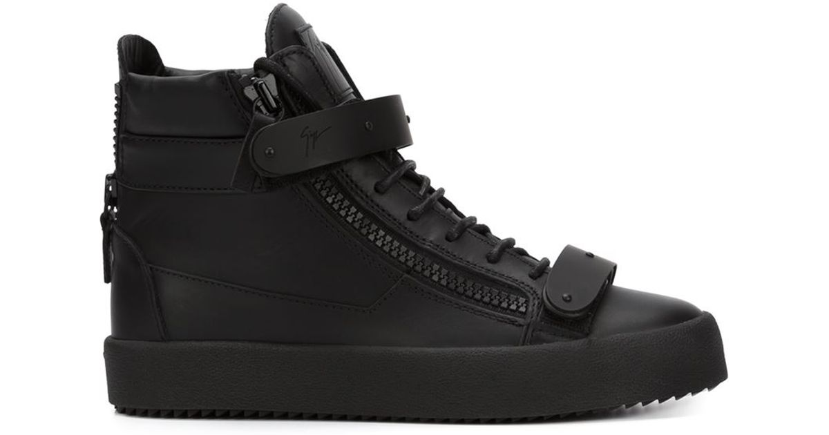Clarks Originals Black Suede Zola High-Top Sneakers DK8sludF