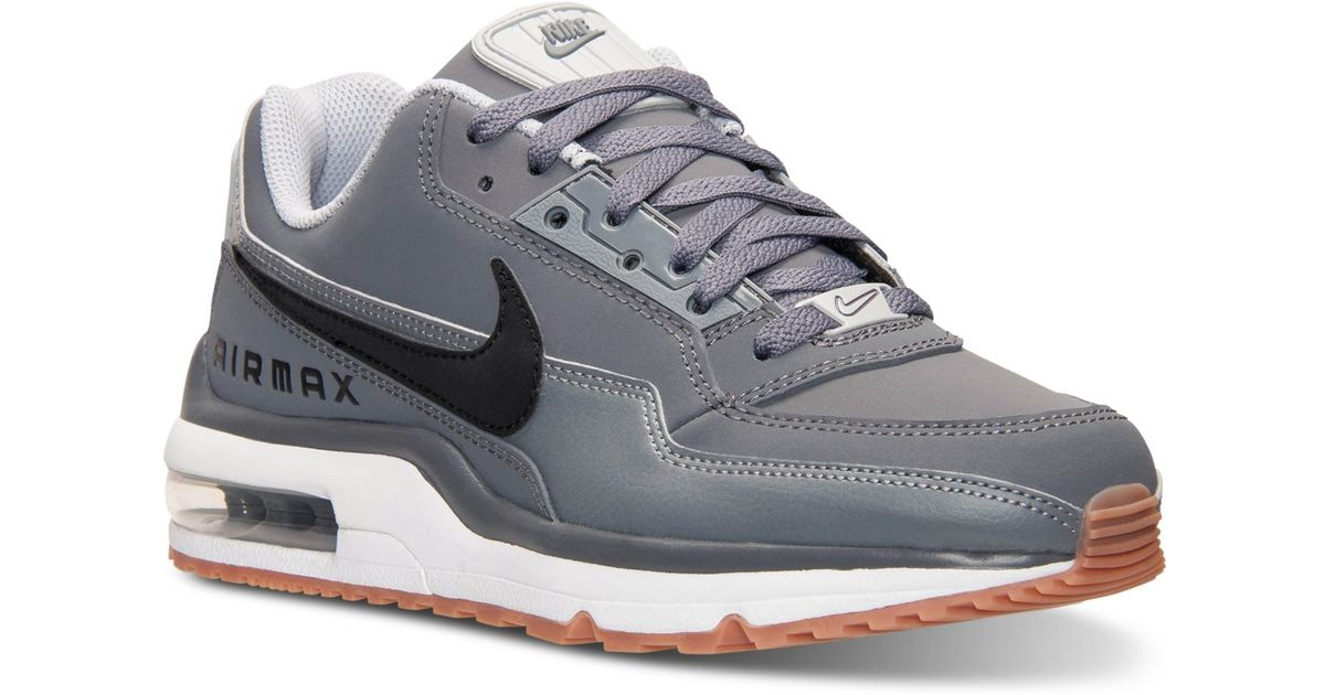 half off a79ac 71ae7 Nike Men s Air Max Ltd 3 Running Sneakers From Finish Line in Gray for Men  - Lyst