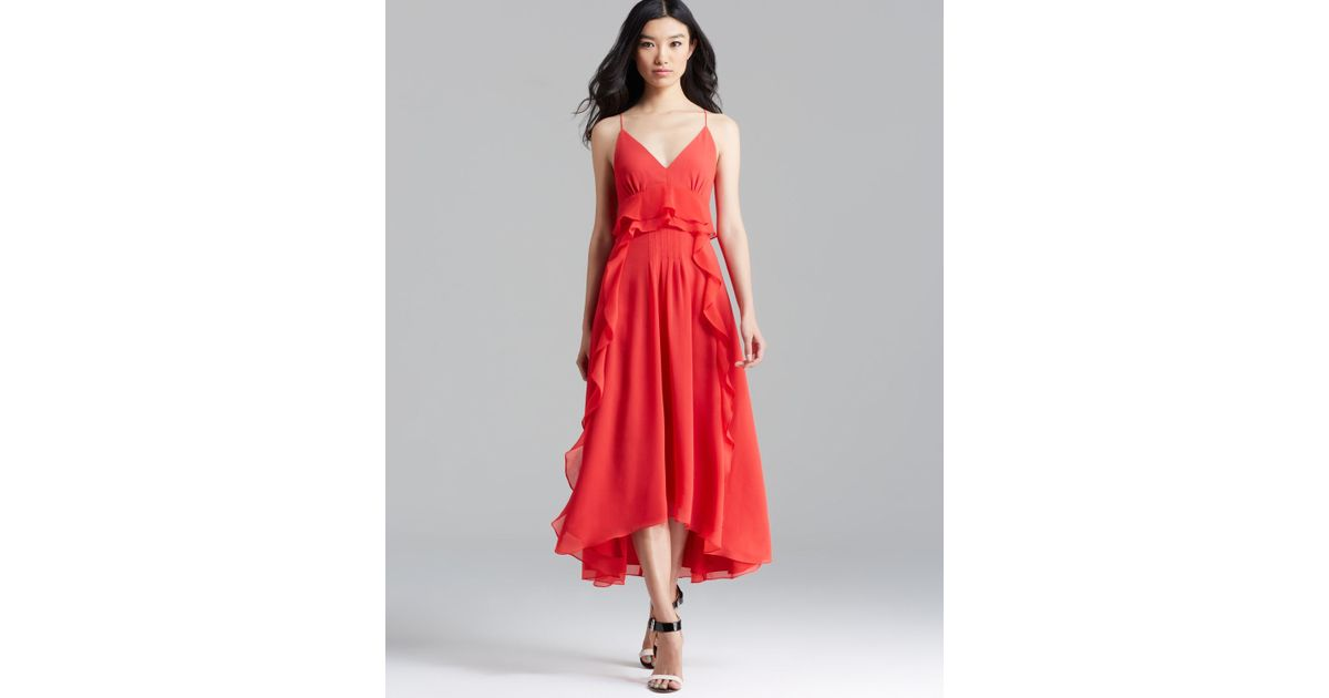 Nanette lepore Dress Dreamer in Red | Lyst
