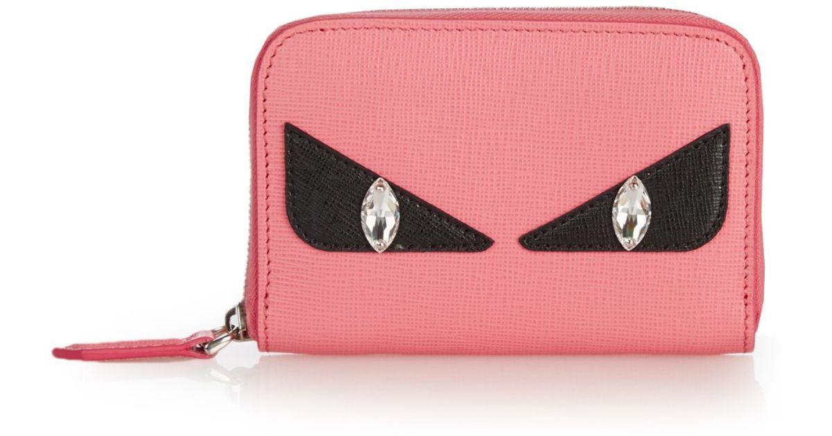... denmark lyst fendi bag bugs mini zip around wallet in pink 54226 434ba f40c50a49b148