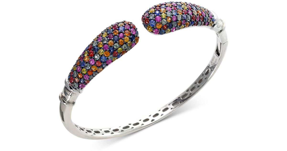 bracelet white gold all bracelets amoro and diamond sapphire bangle carat square bangles