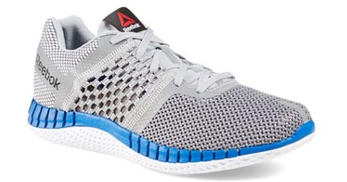 Lyst - Reebok  zprint Run  Running Shoe in Gray for Men cd72d6a0c