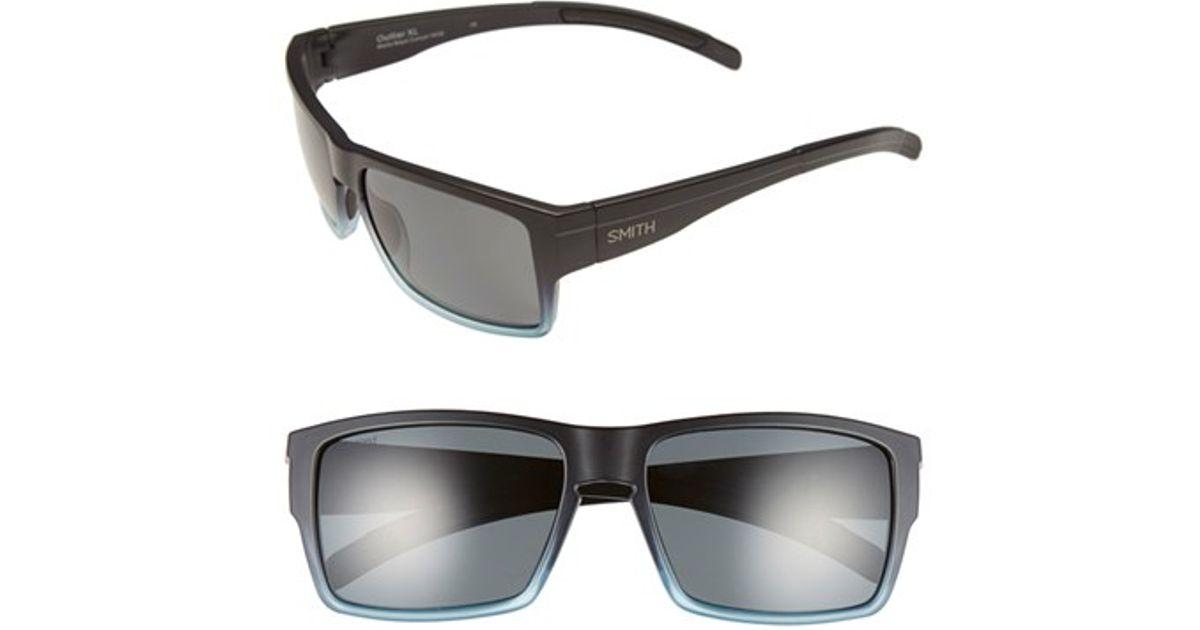 76155becff Lyst - Smith Optics  outlier Xl  56mm Polarized Sunglasses in Orange