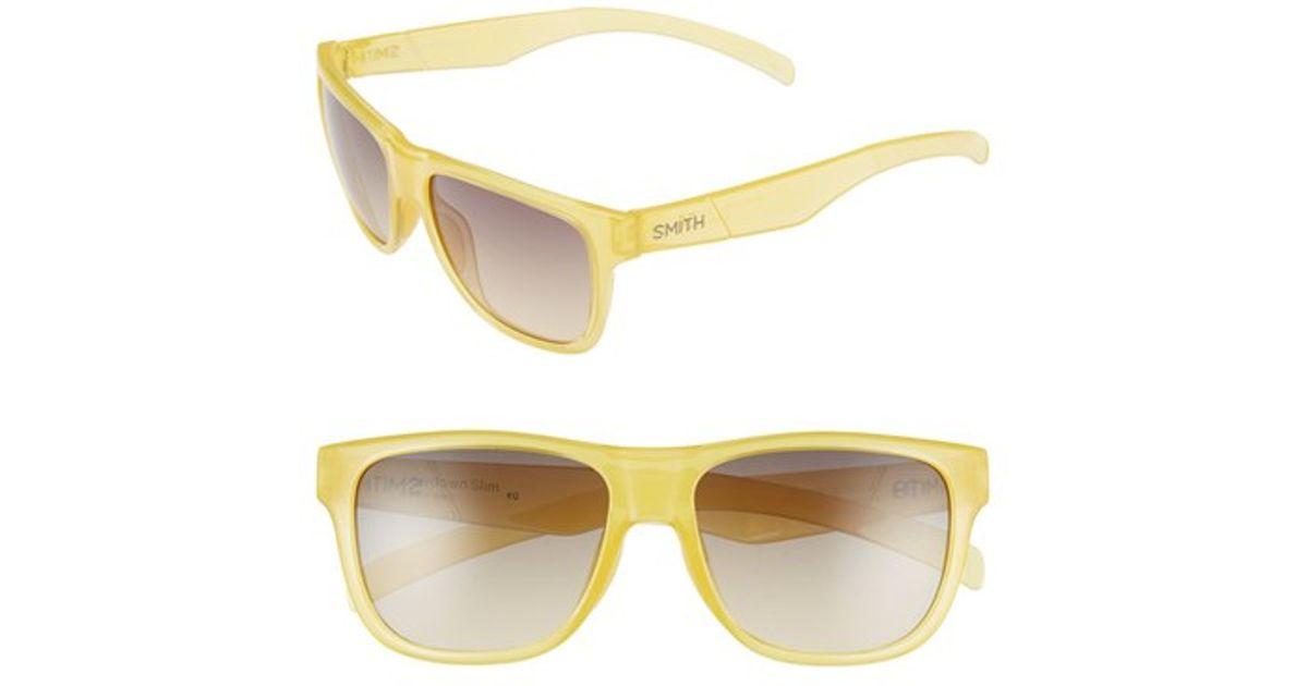 48b0deefe52a4 Lyst - Smith Optics  lowdown Slim  53mm Sunglasses in Yellow