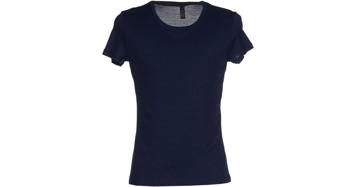 ralph lauren t shirt in blue for men lyst. Black Bedroom Furniture Sets. Home Design Ideas