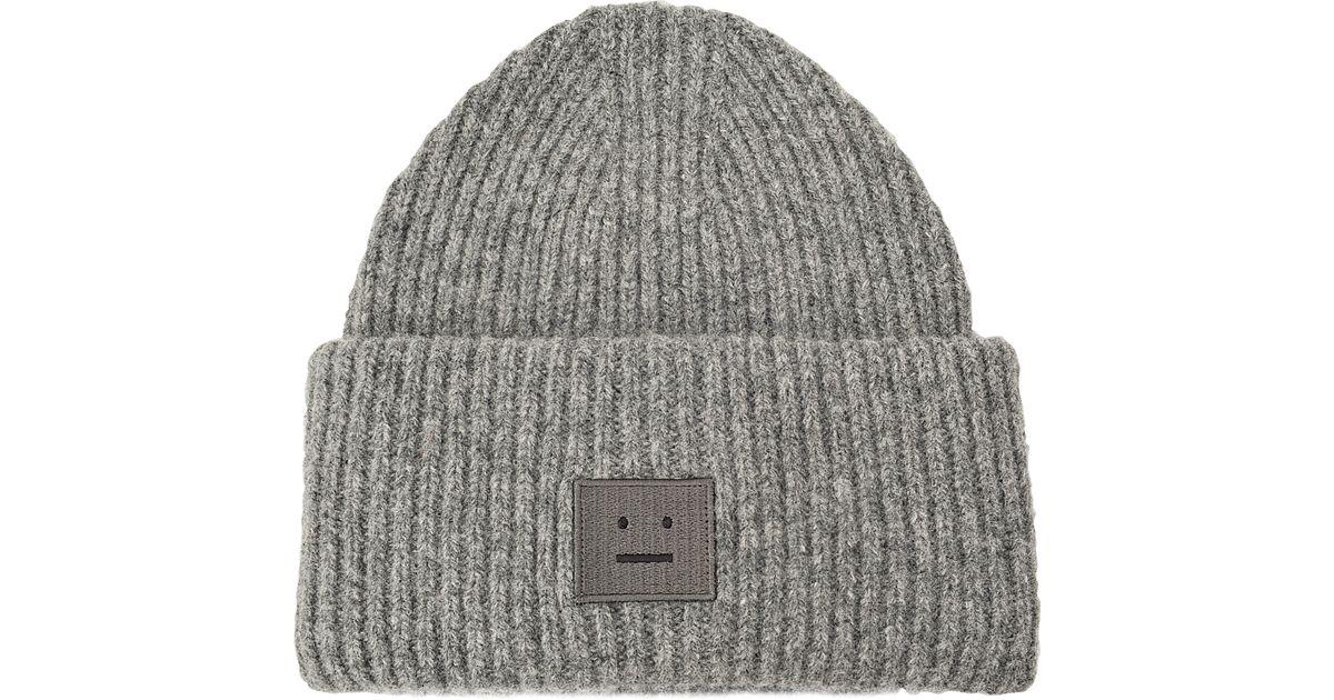 Lyst - Acne Studios Pansy Shet Hat in Gray b263b7c653d