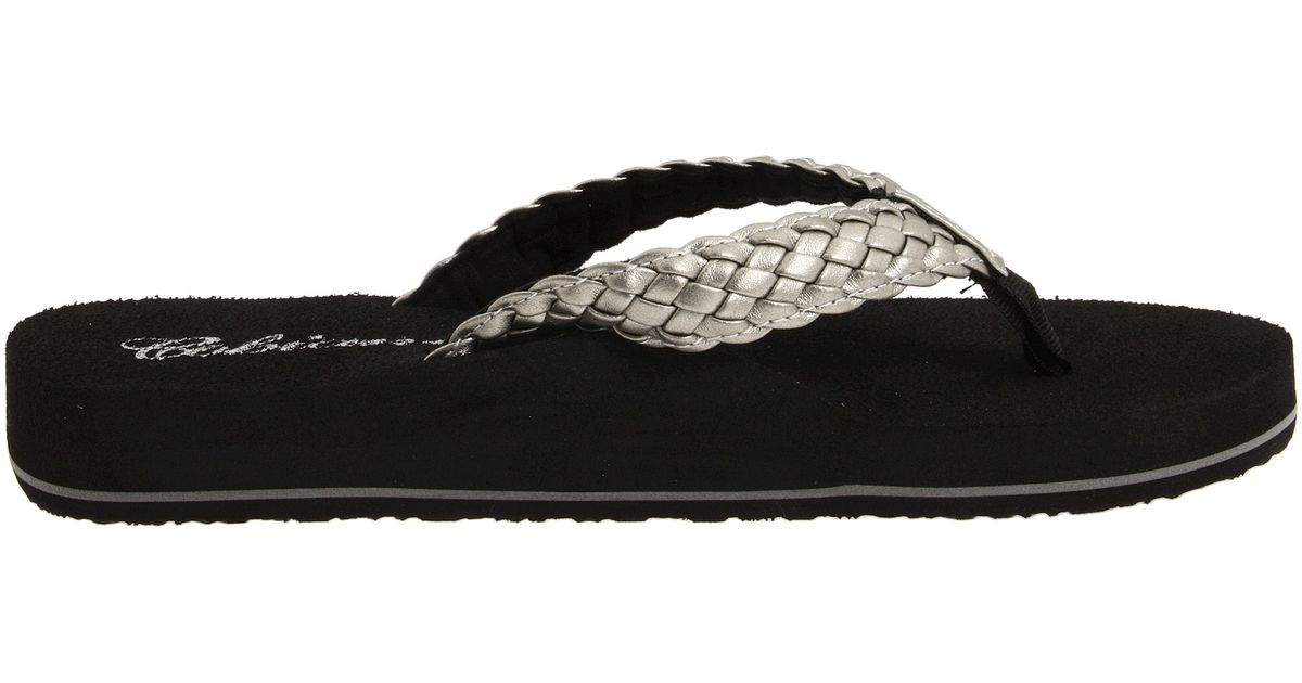 05a539618 Lyst - Cobian Braided Bounce in Metallic