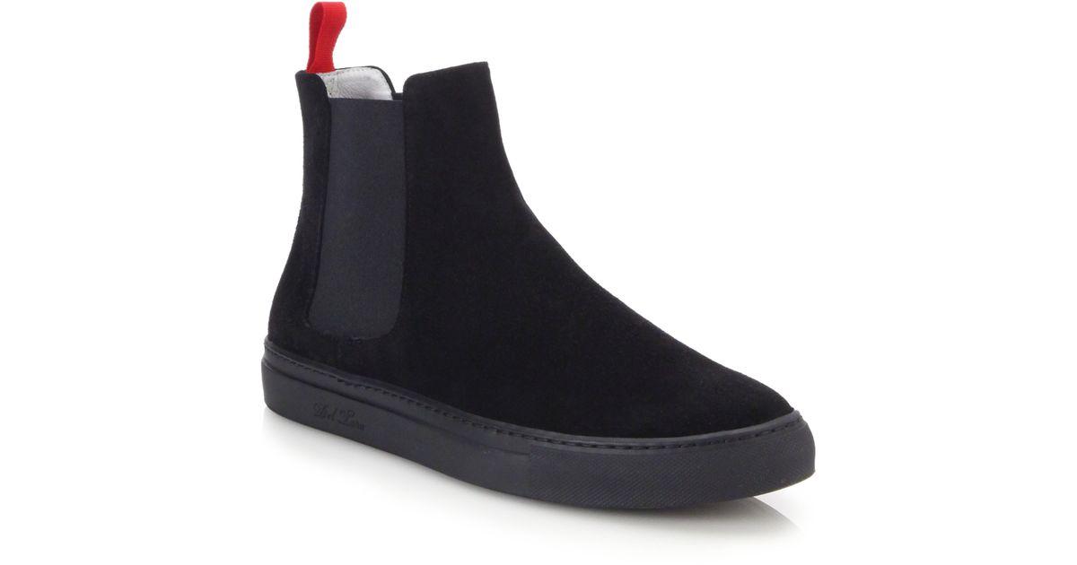 Del Toro Suede Chelsea Boot Sneakers in