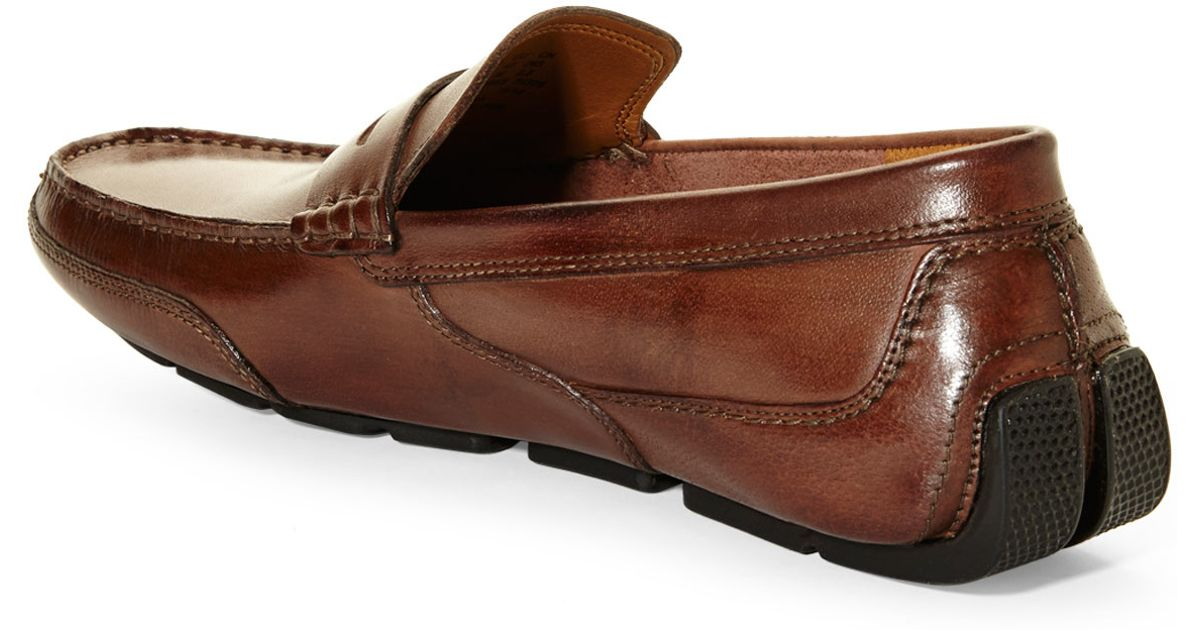92d1c715f12e Lyst - Clarks Ashmont Way Penny Loafers in Brown for Men