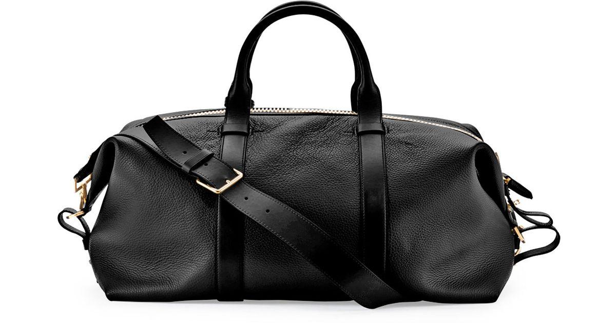 89135fcbdc45b8 Lyst - Tom Ford Buckley Large Duffle Bag in Black