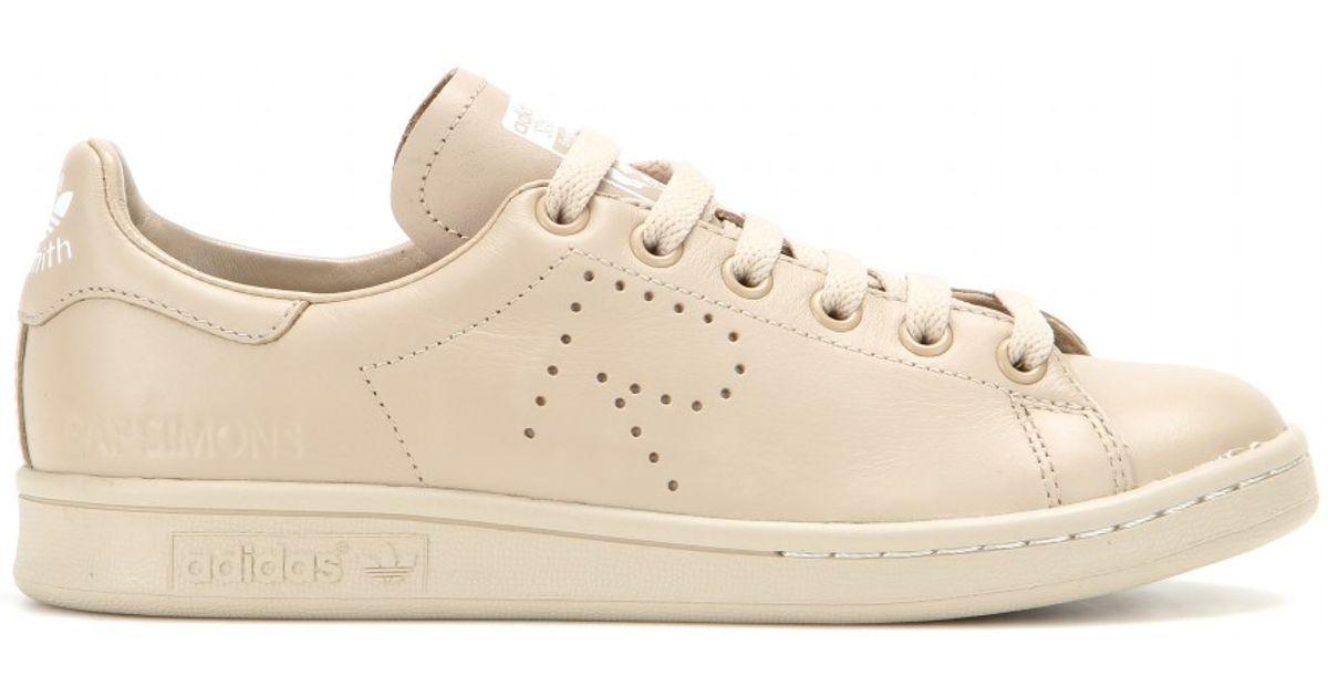 Adidas da raf simons stan smith in cuoio naturale lyst scarpe