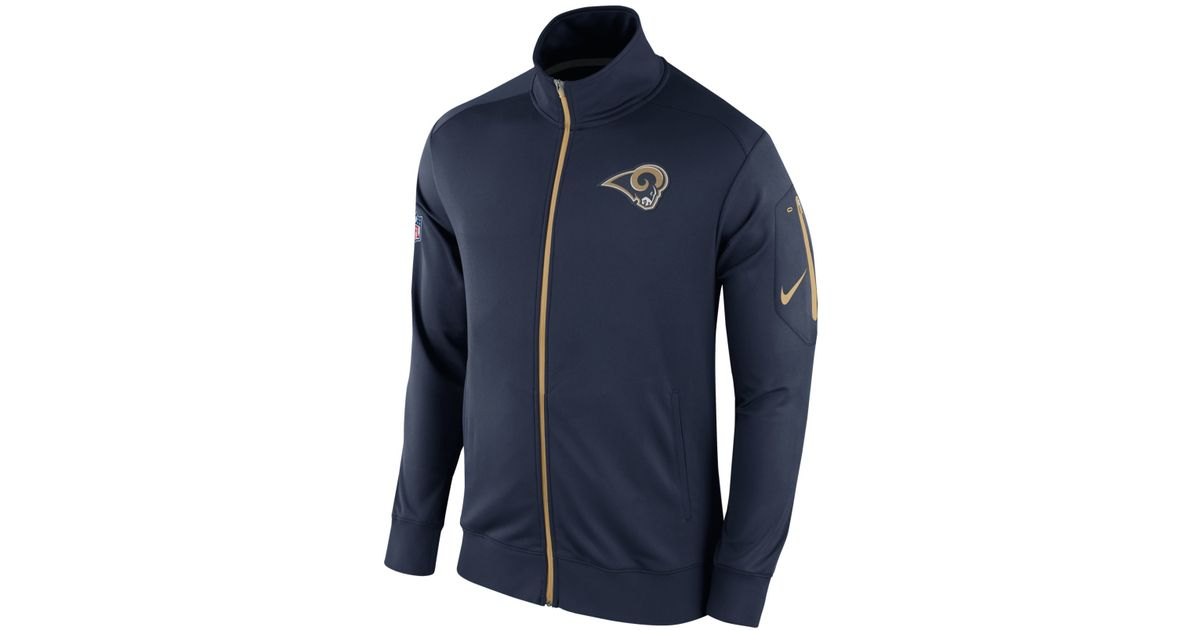 Nike Rams #30 Todd Gurley II Navy Blue Team Color Men's ...