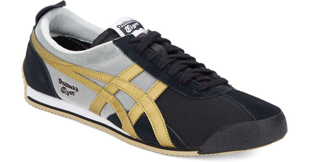 outlet store 8b62b df27d Onitsuka Tiger Black Fencing Sneakers for men
