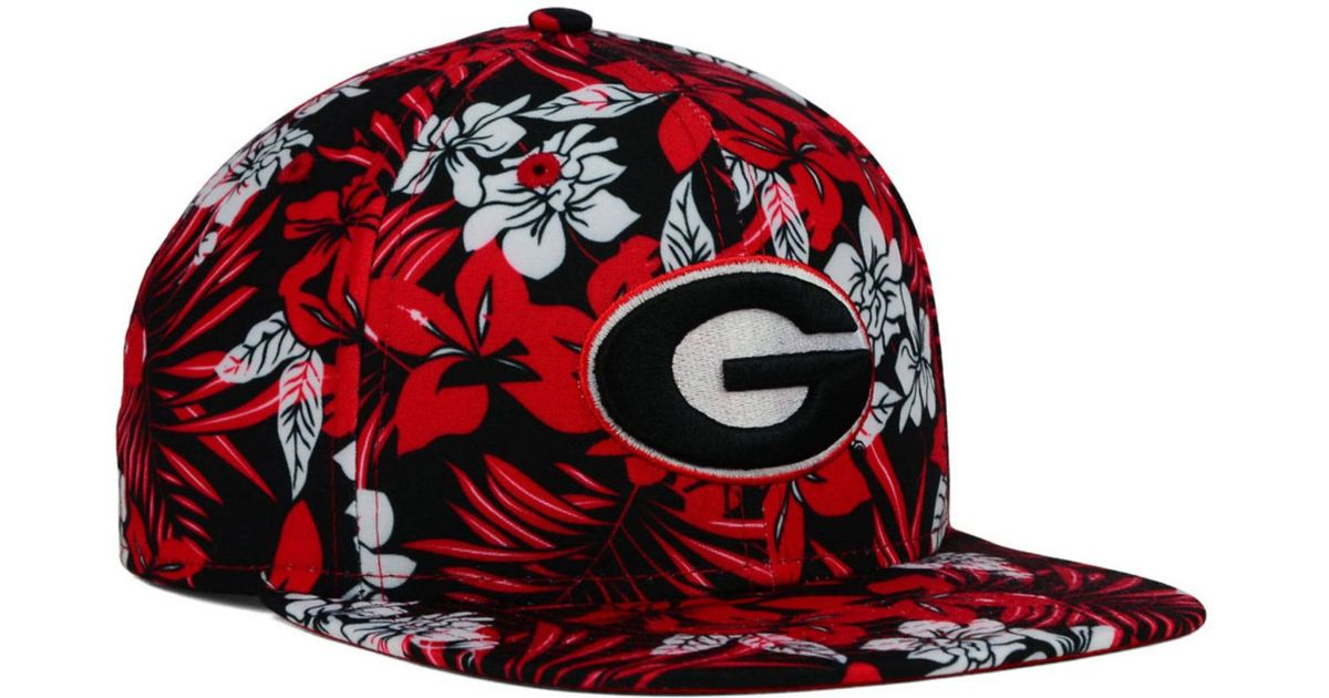a08c9835810 Lyst - Ktz Georgia Bulldogs Wowie Snapback Cap in Red for Men